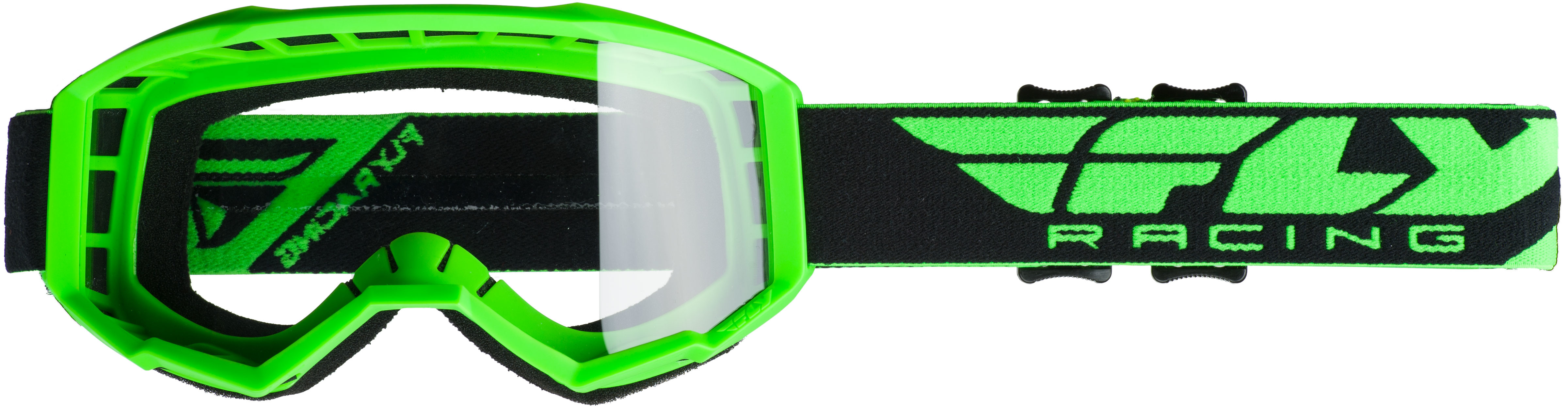 2019 Focus Goggle Hi-Vis Green W/Clear Lens