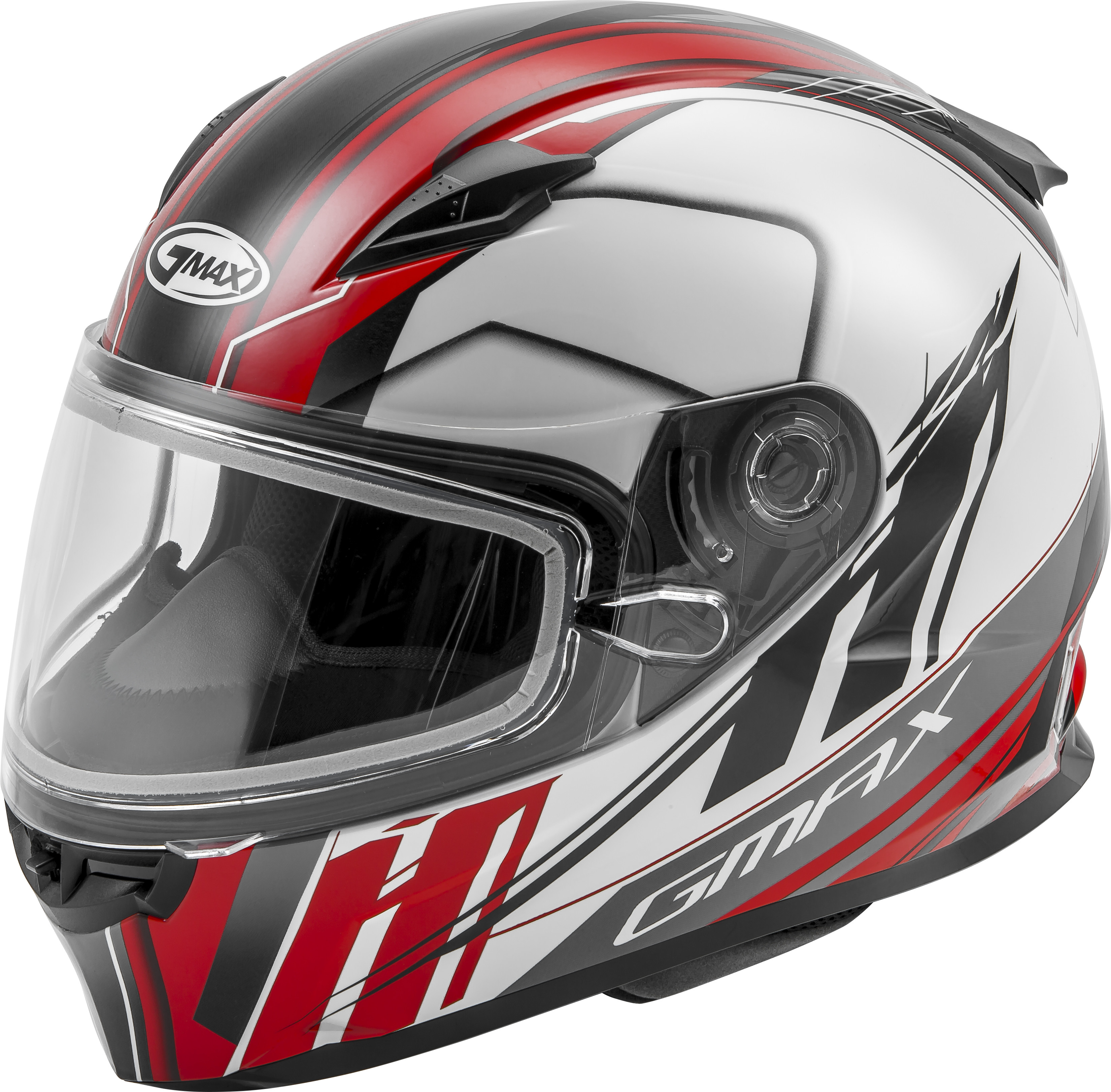 YOUTH GM49Y Rogue Snow,  Helmet WHITE RED 72-6008YS