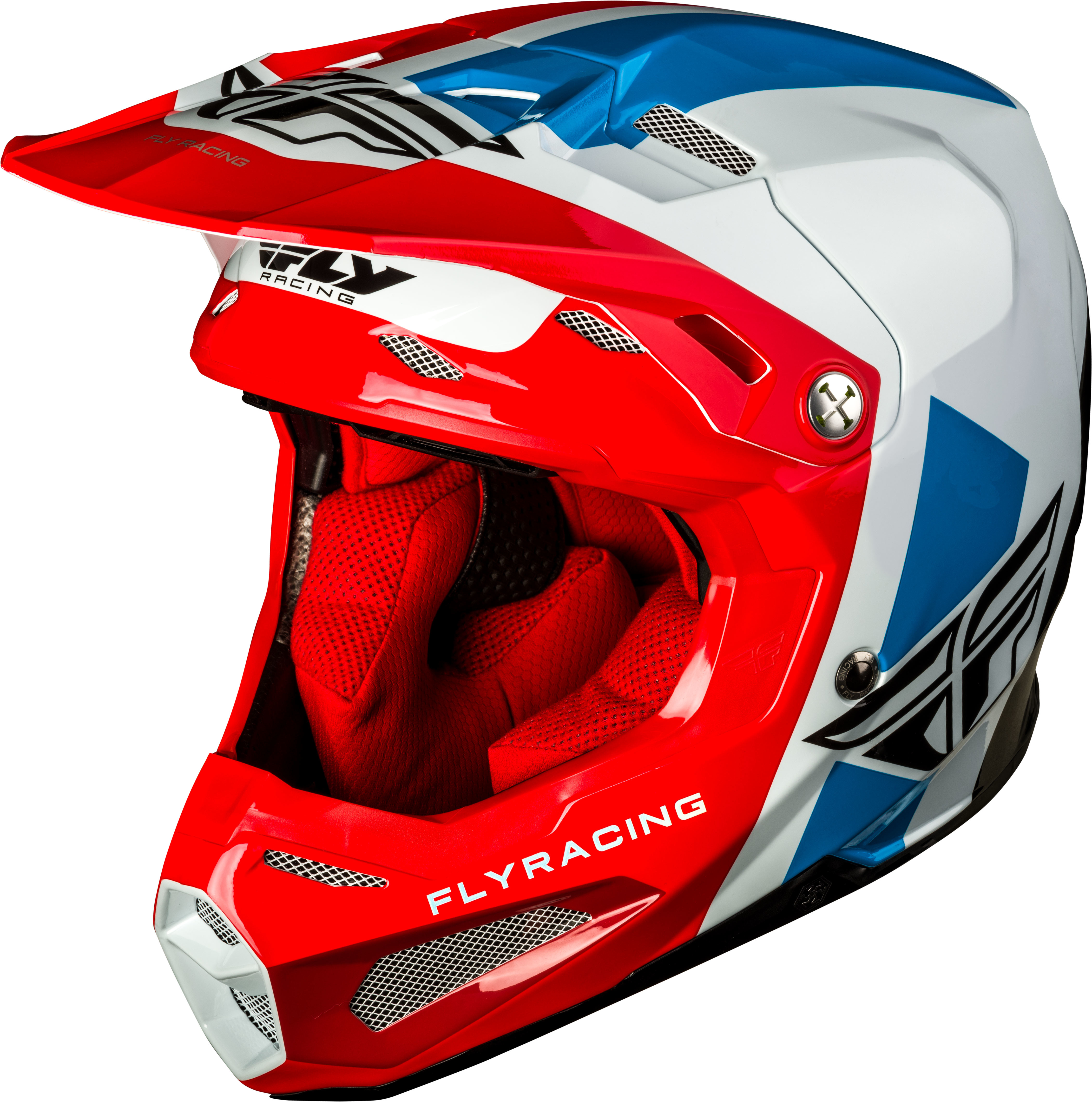 FORMULA ORIGIN Helmet Red White Blue,  Md  73-4402M