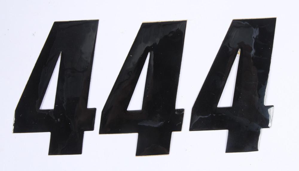 Number 4 Black 4