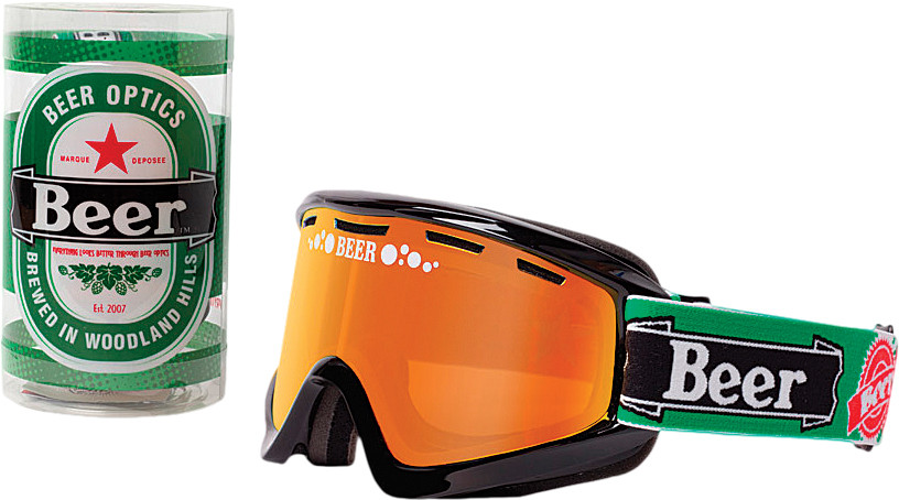 COLD HEINY GOGGLE RED MIRROR