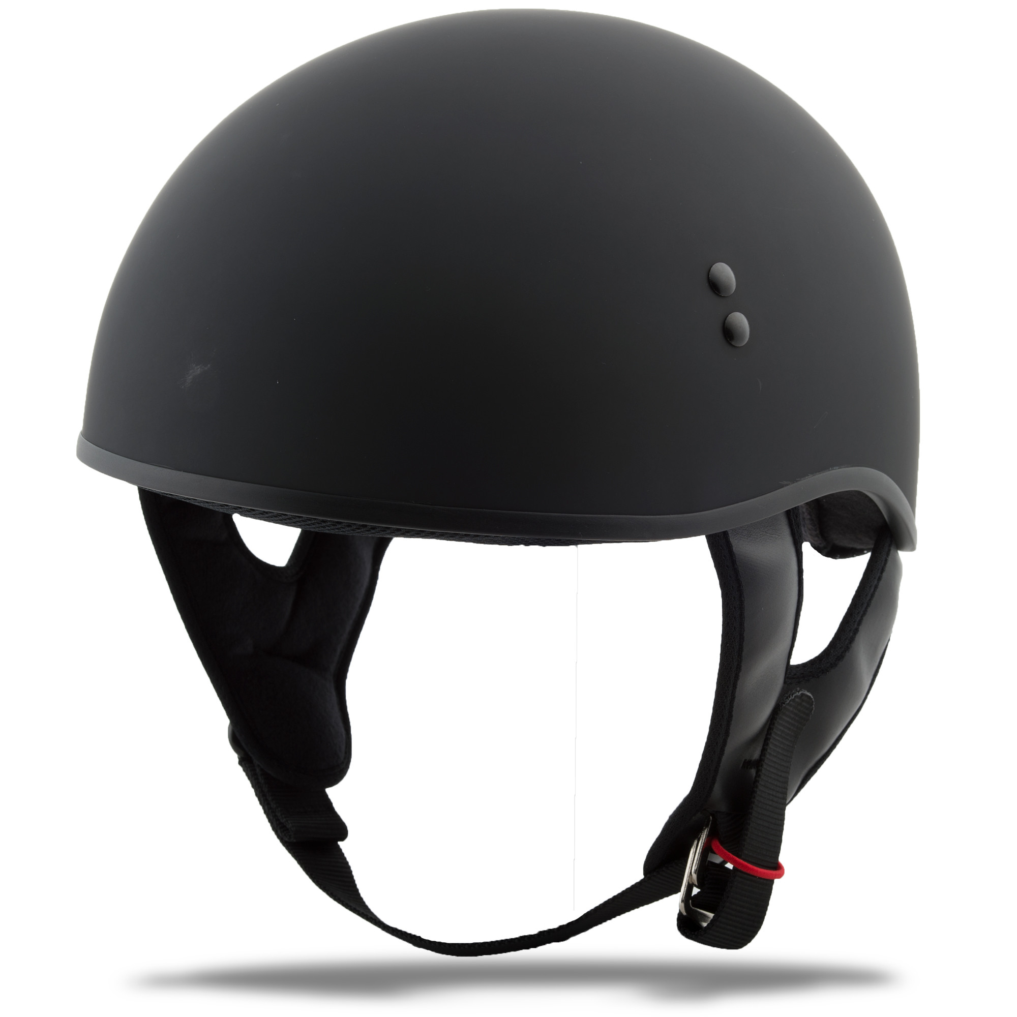 GM-45 HALF Helmet Naked,  Matte BLACK 72-6431L