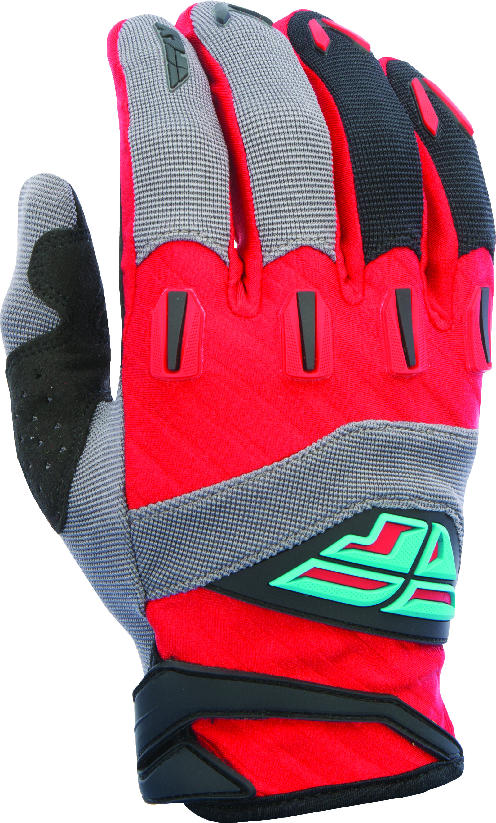 F-16 GLOVE RED/BLACK/GREY SZ 7 XS (370-91207)