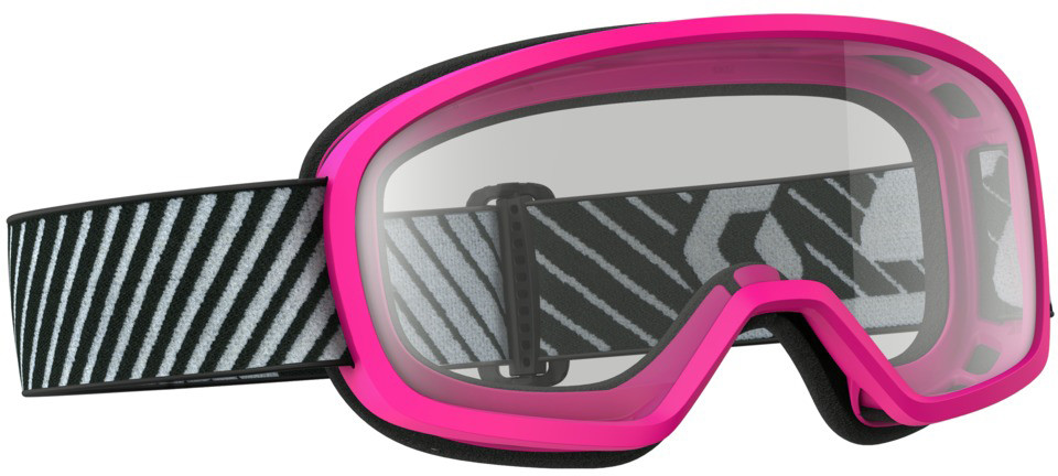 Buzz Mx Goggle Pink W/Clear Lens