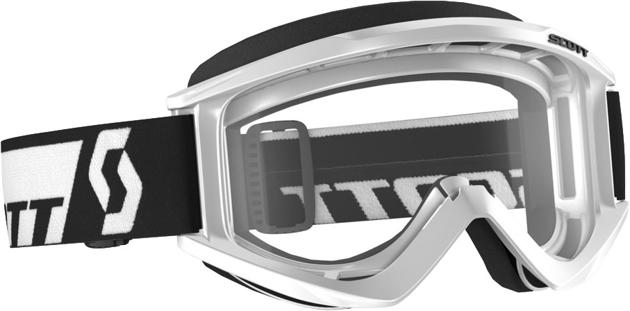 Recoil Xi Goggle White W/Clear Lens