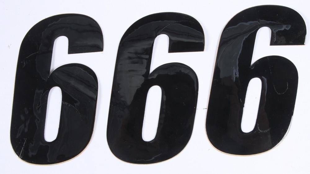 Number 6 Black 4