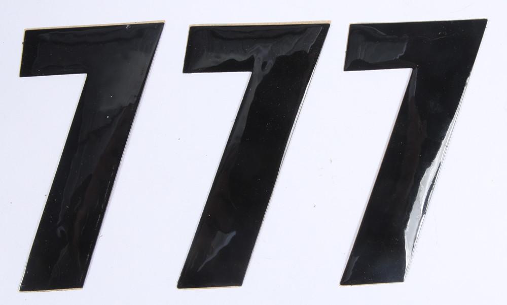Number 7 Black 4