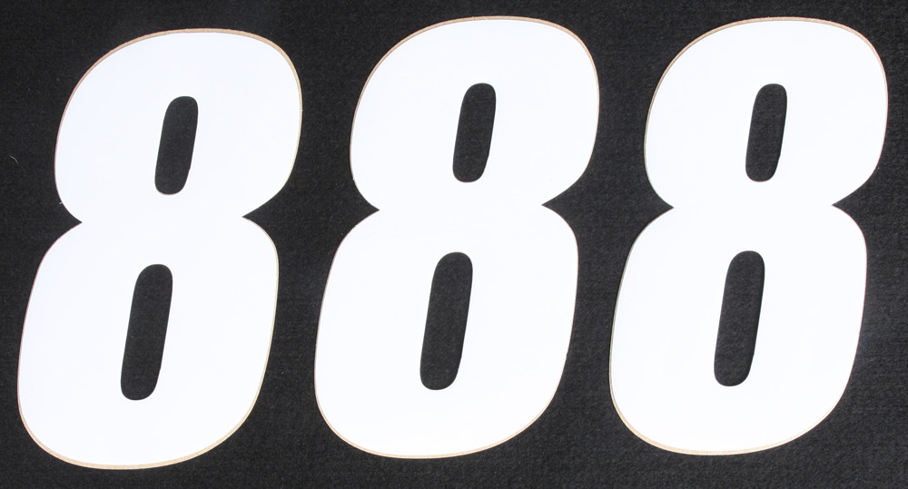 Number 8 White 6