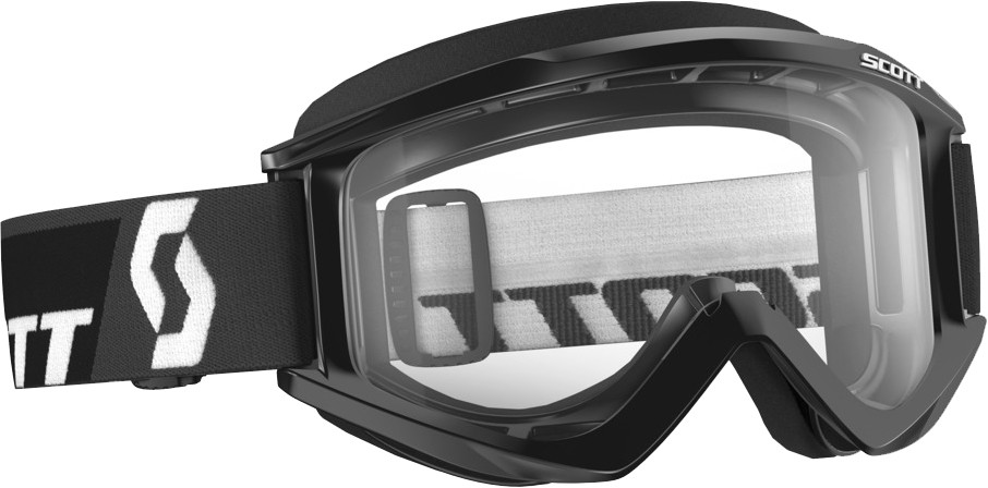 Recoil Xi Goggle Black W/Clear Lens