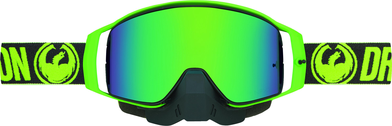 NFX2 Snow Goggle Factory Luma Green Ion + Amber Lens