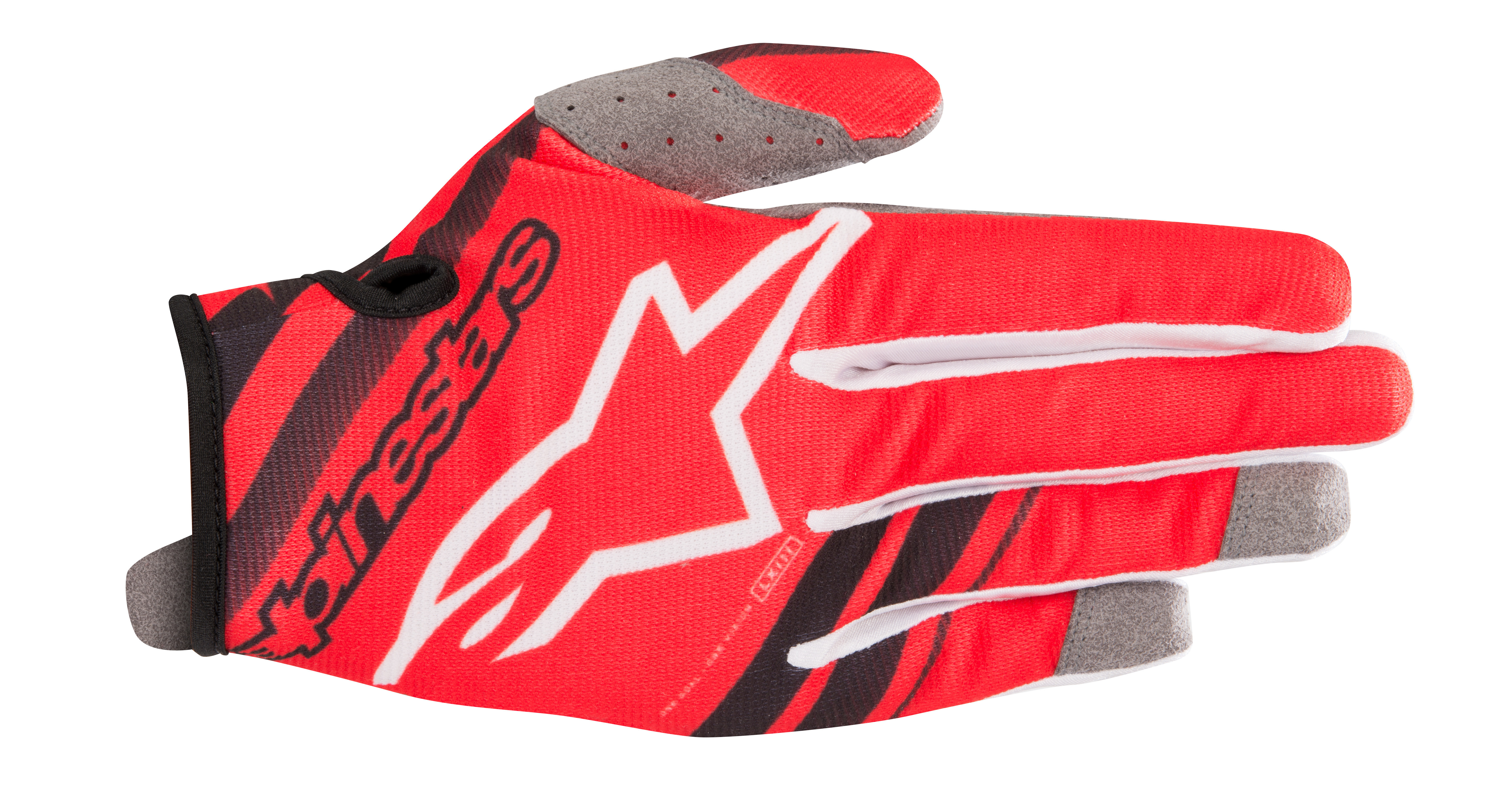 YOUTH RADAR GLOVES RED/BLACK Y3XS