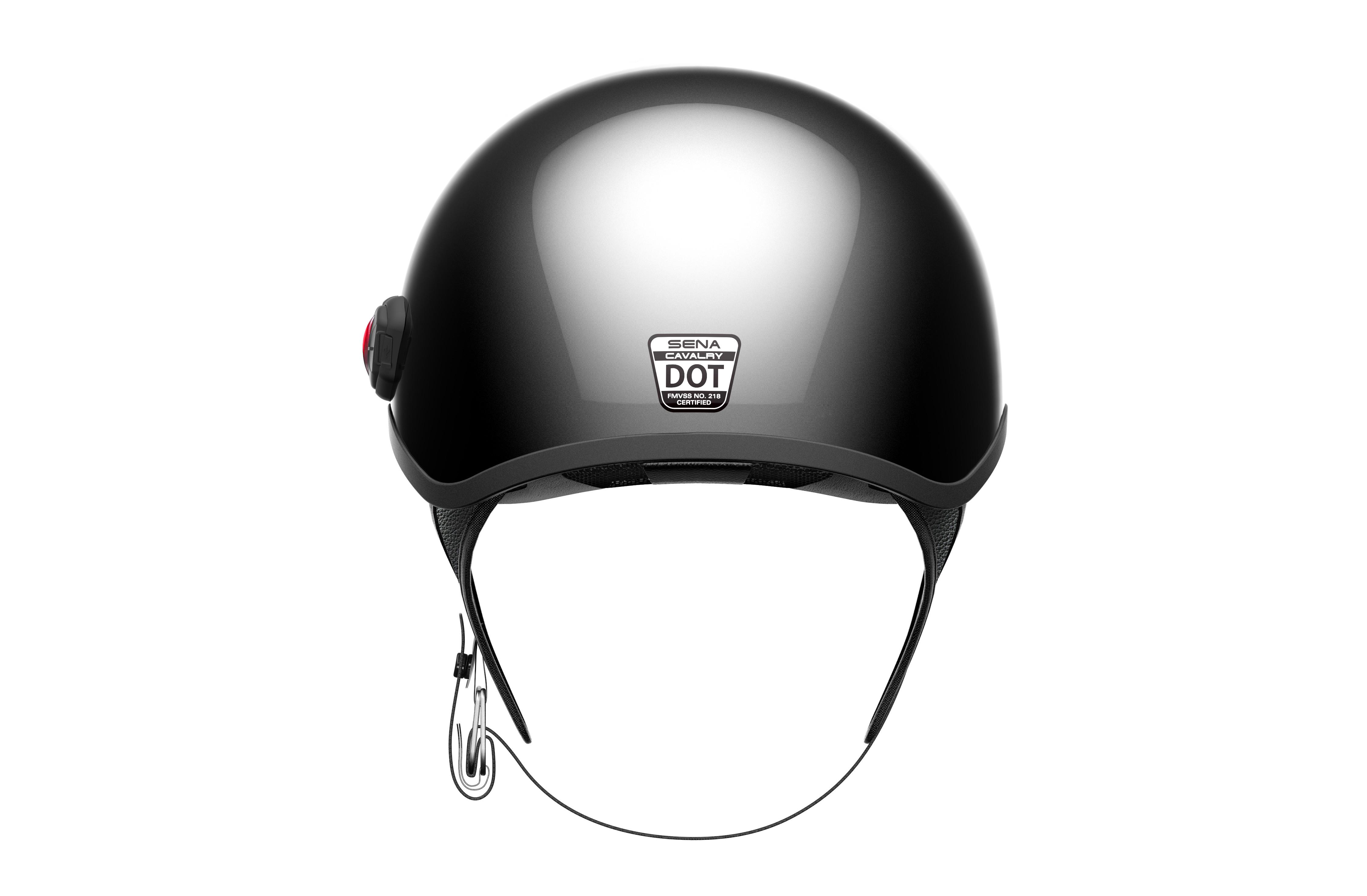 Cavalry Bluetooth Half Helmet