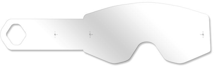 Goggle Tear-Offs 20/Pk W/ Strap Pin