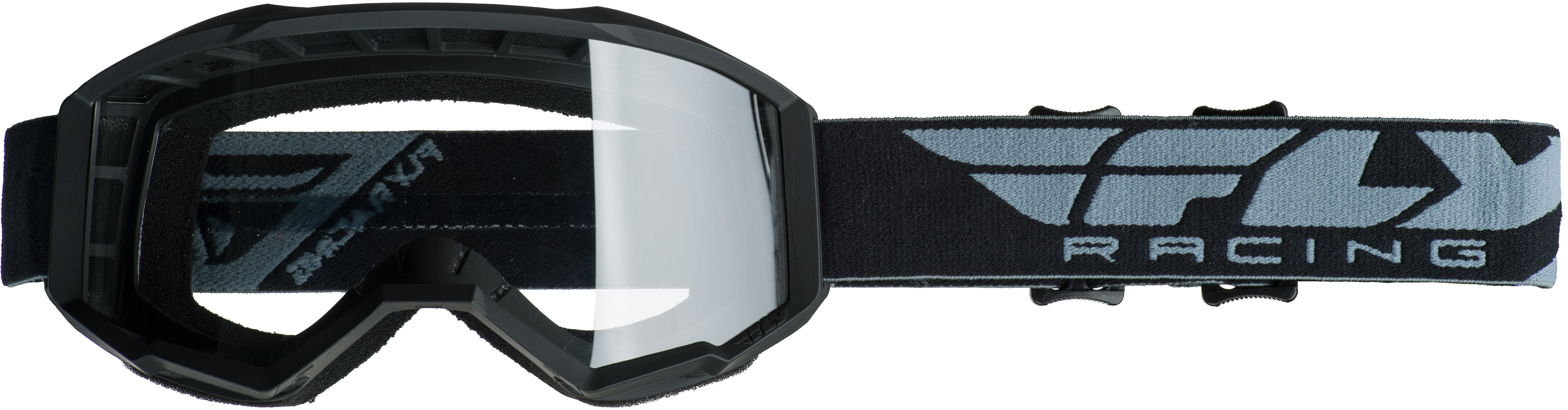 2019 Focus Goggle Black W/Clear Lens
