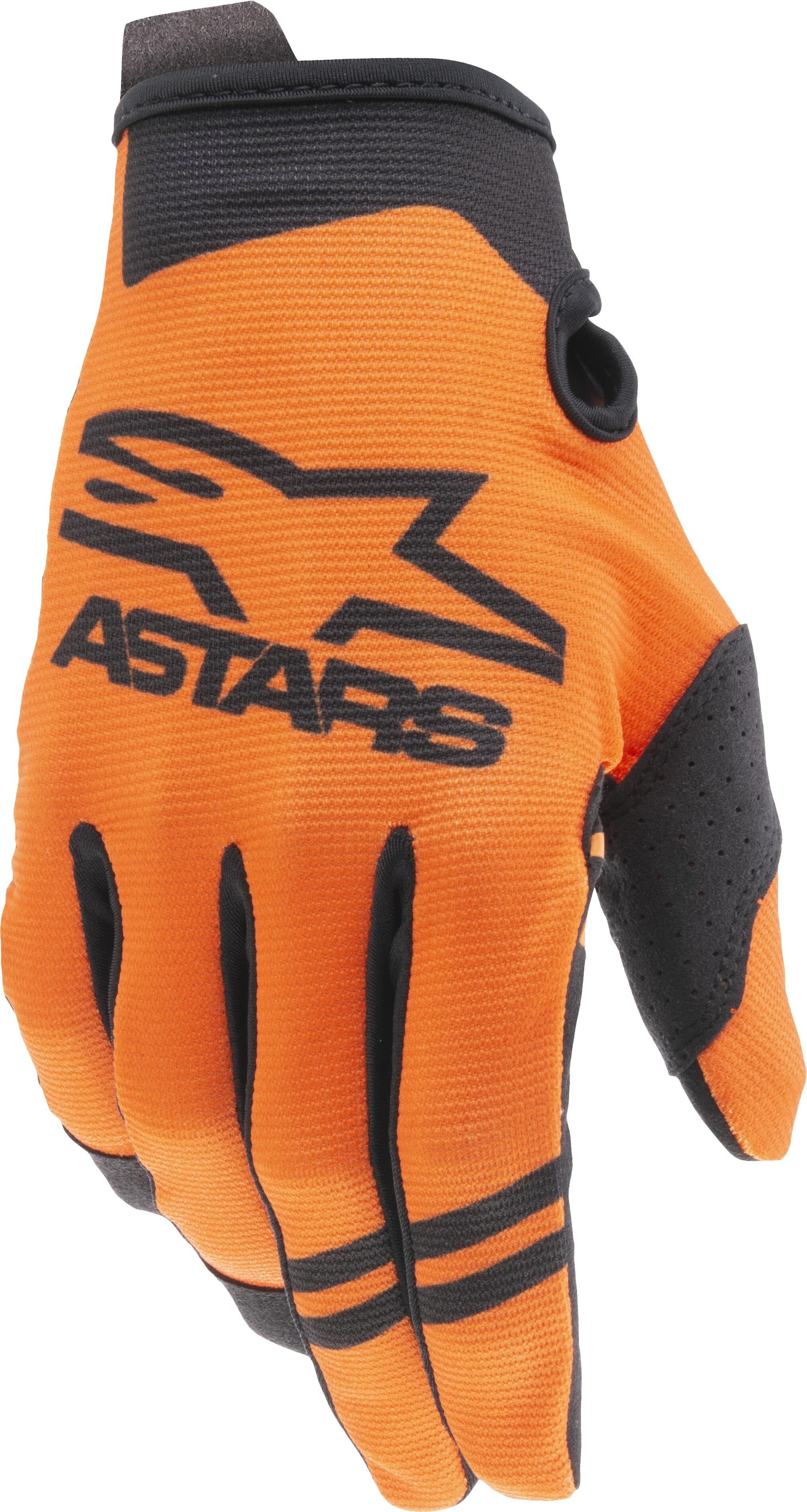 YOUTH RADAR GLOVES ORANGE/ BLACK LG