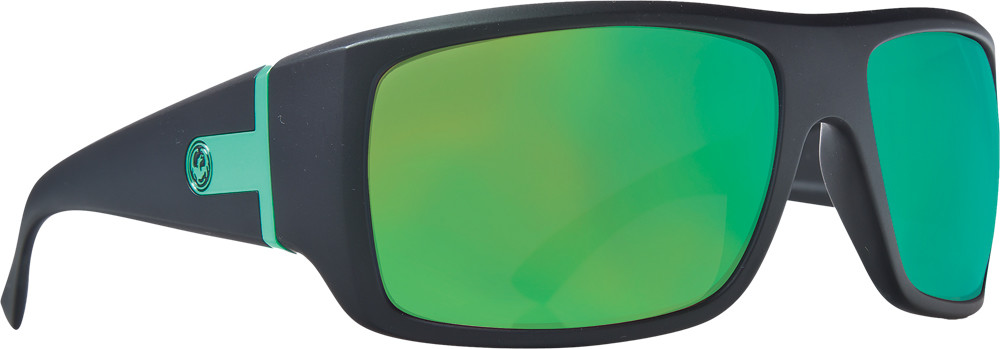 Vantage Sunglasses Matte H2O W/Green Ion Lens