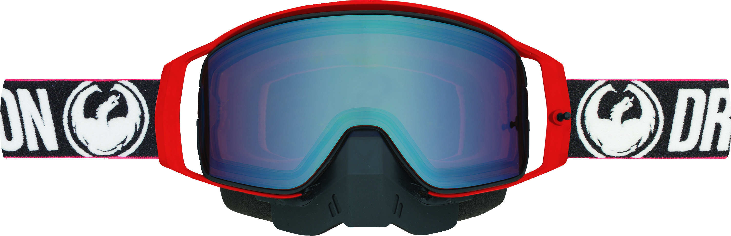NFX2 Snow Goggle Factory Lum Flash Blue Ion + Dark Smoke Le