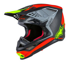 ANAHEIM 1 M-10 Helmet,  Red Black Yellow MD 482-9010M