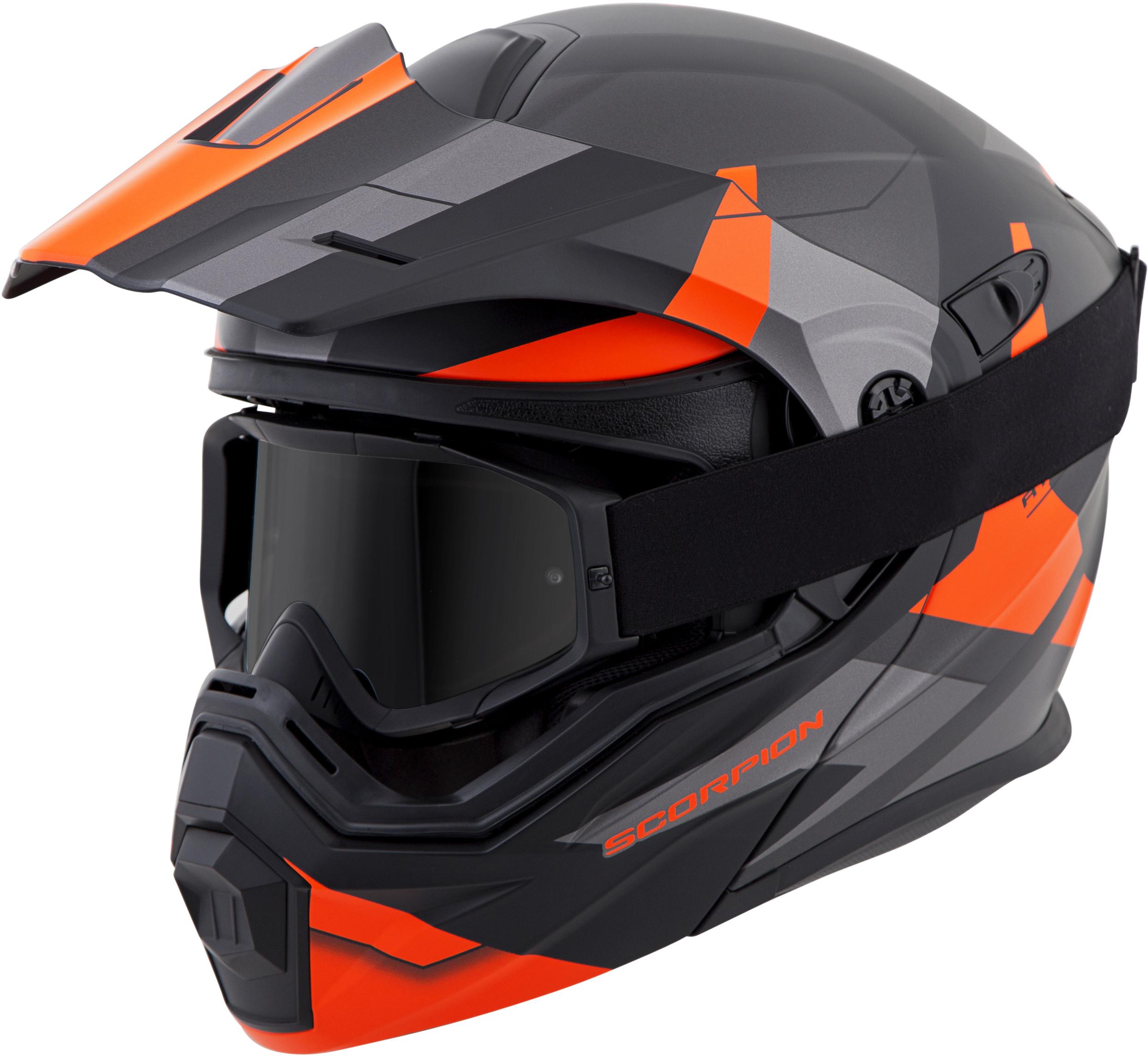 for-Scorpion-Helmet-EXO-AT950-Neocon-Snow-Helmet-with-Dual-Lens-Shield miniature 12