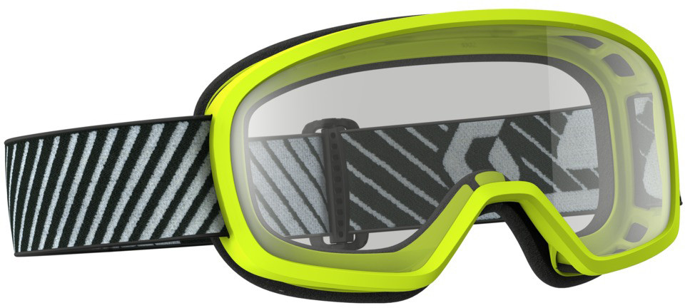 Buzz Mx Goggle Yellow W/Clear Lens