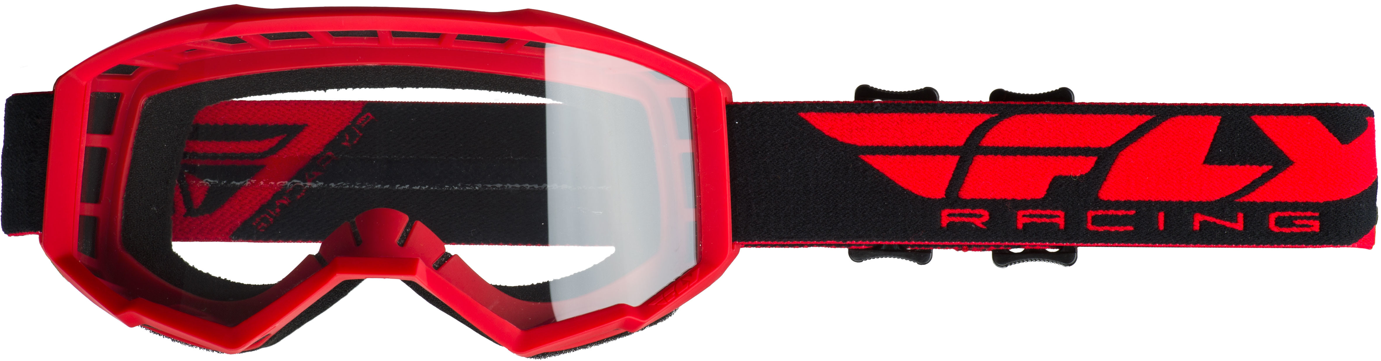 2019 Focus Goggle Red W/Clear Lens