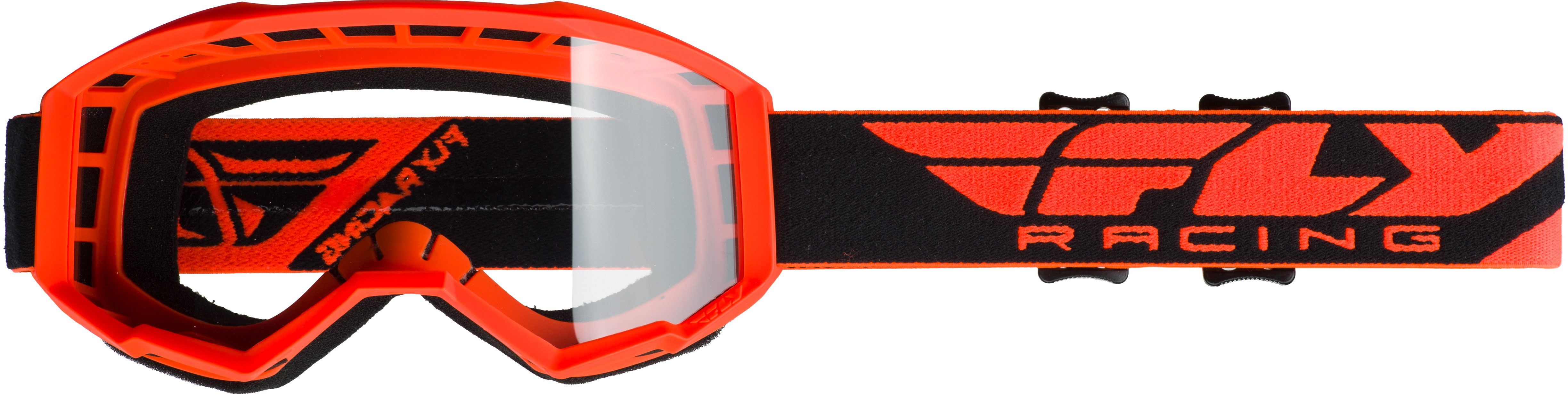 2019 Focus Goggle Hi-Vis Orange W/Clear Lens