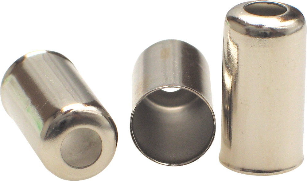 CABLE 7MM LONG CAP FITTINGS 10/PK