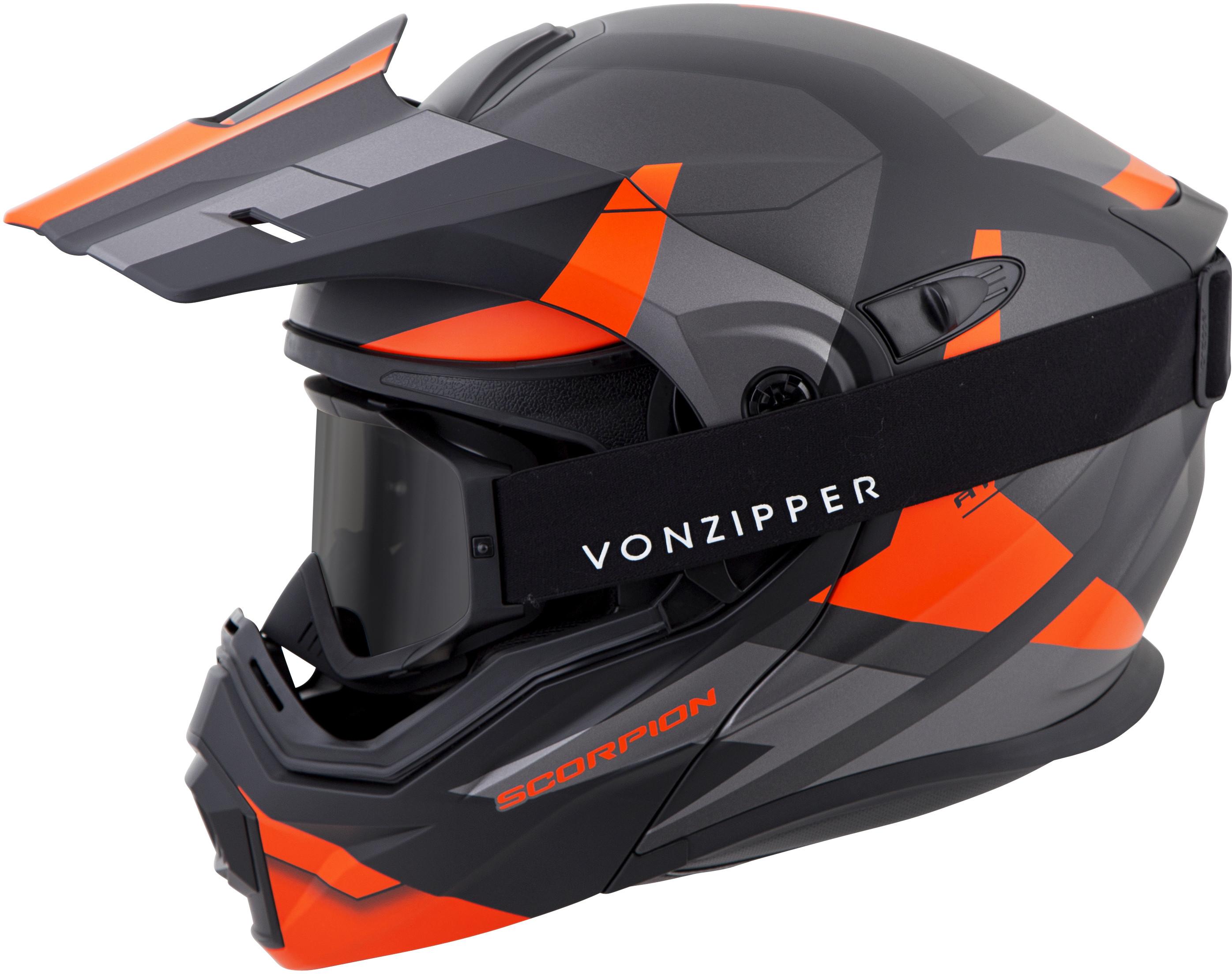for-Scorpion-Helmet-EXO-AT950-Neocon-Snow-Helmet-with-Dual-Lens-Shield miniature 18
