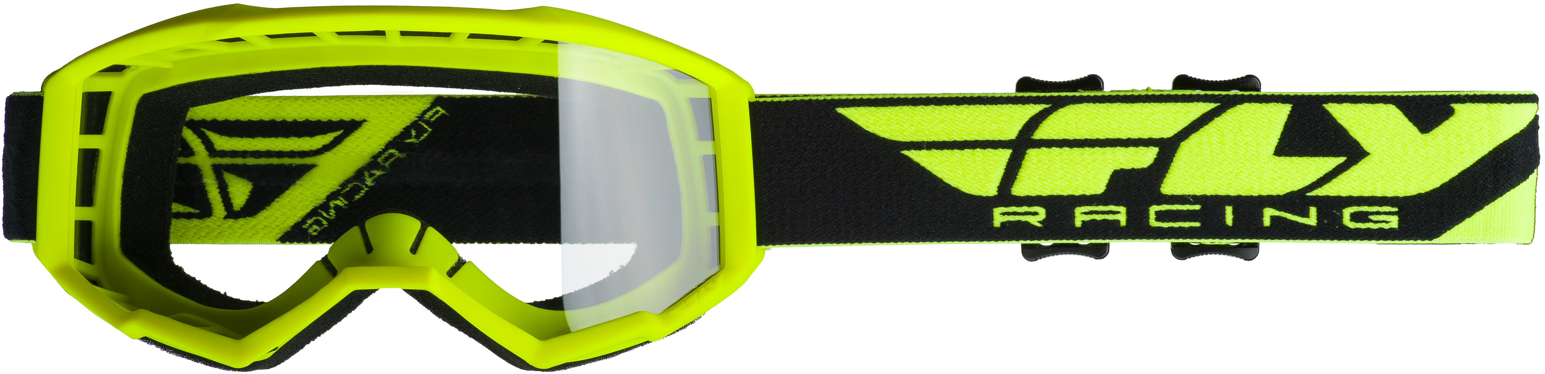 2019 Focus Goggle Hi-Vis Yellow W/Clear Lens