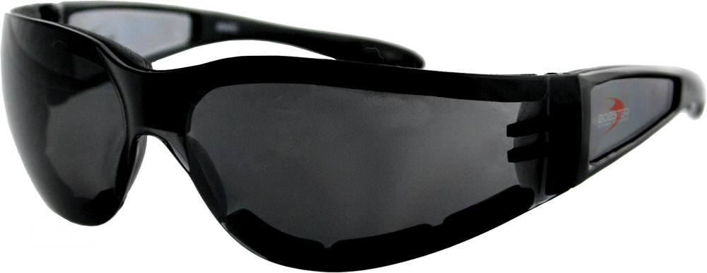 SHIELD II SUNGLASSES BLACK W/SMOKE LENS