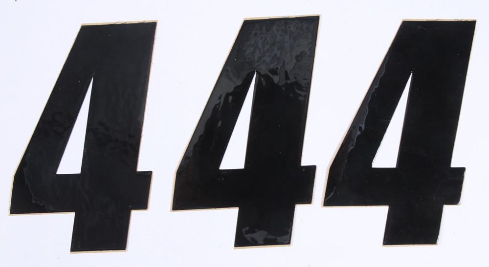 Number 4 Black 6
