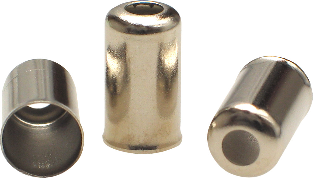 CABLE 6MM LONG CAP FITTINGS 10/PK