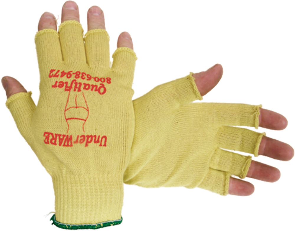 GLOVE LINER QUALIFIER FINGERTIP-LESS L (27-1385L)