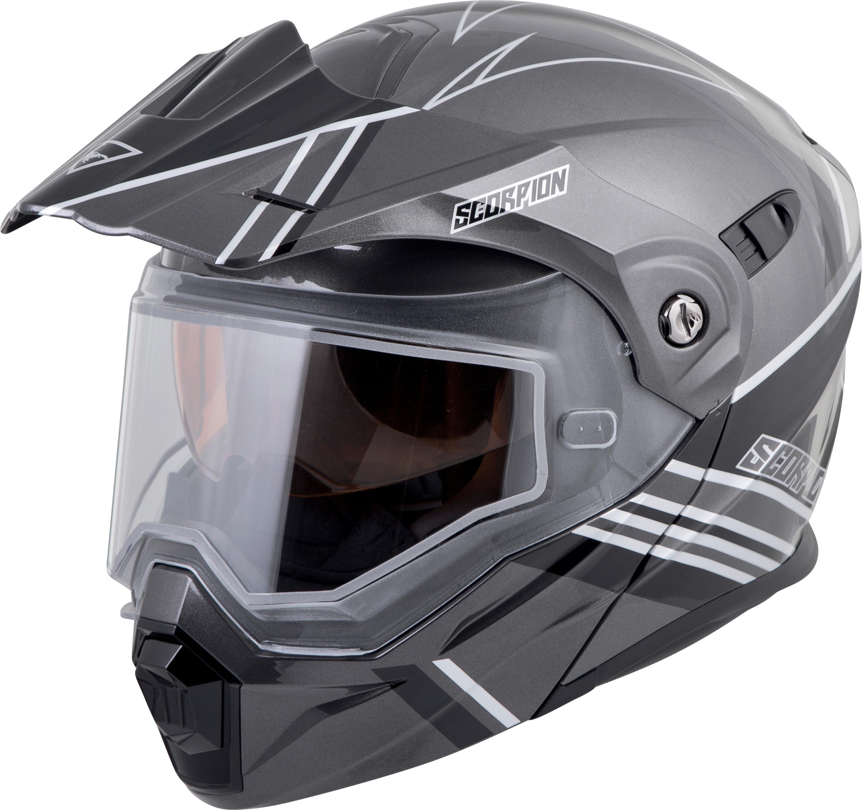 79f0808f EXO-AT950 TETON Cold Weather, Helmet BLACK SILVER 75-15103X