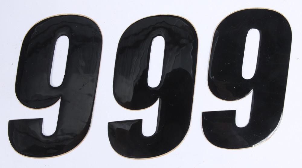 Number 9 Black 4