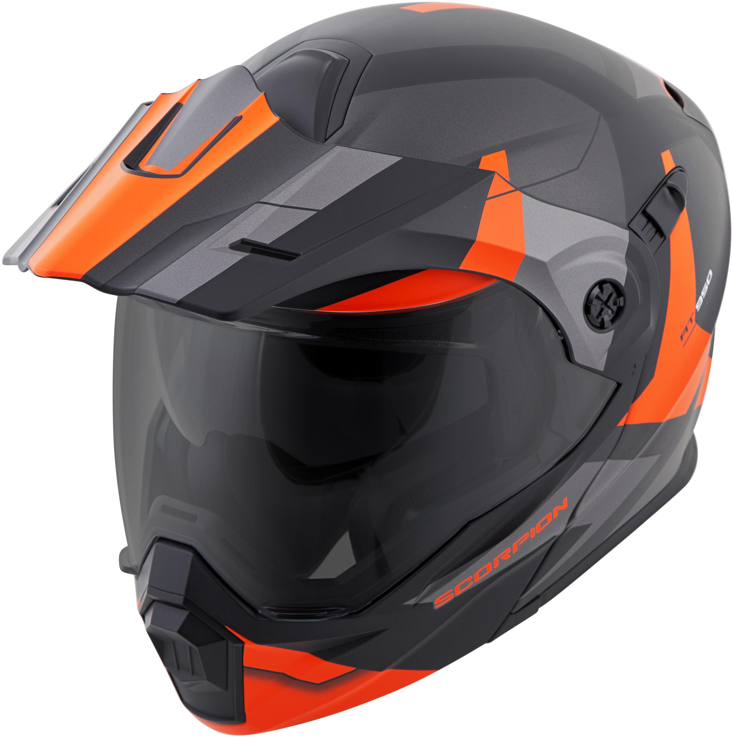 for-Scorpion-Helmet-EXO-AT950-Neocon-Snow-Helmet-with-Dual-Lens-Shield miniature 15