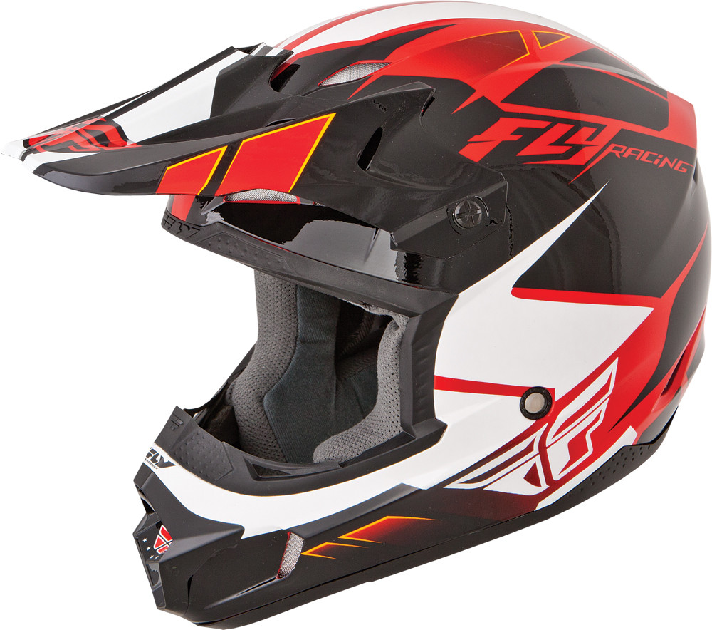 KINETIC IMPULSE Helmet Red Black White,  YS  73-3362YS