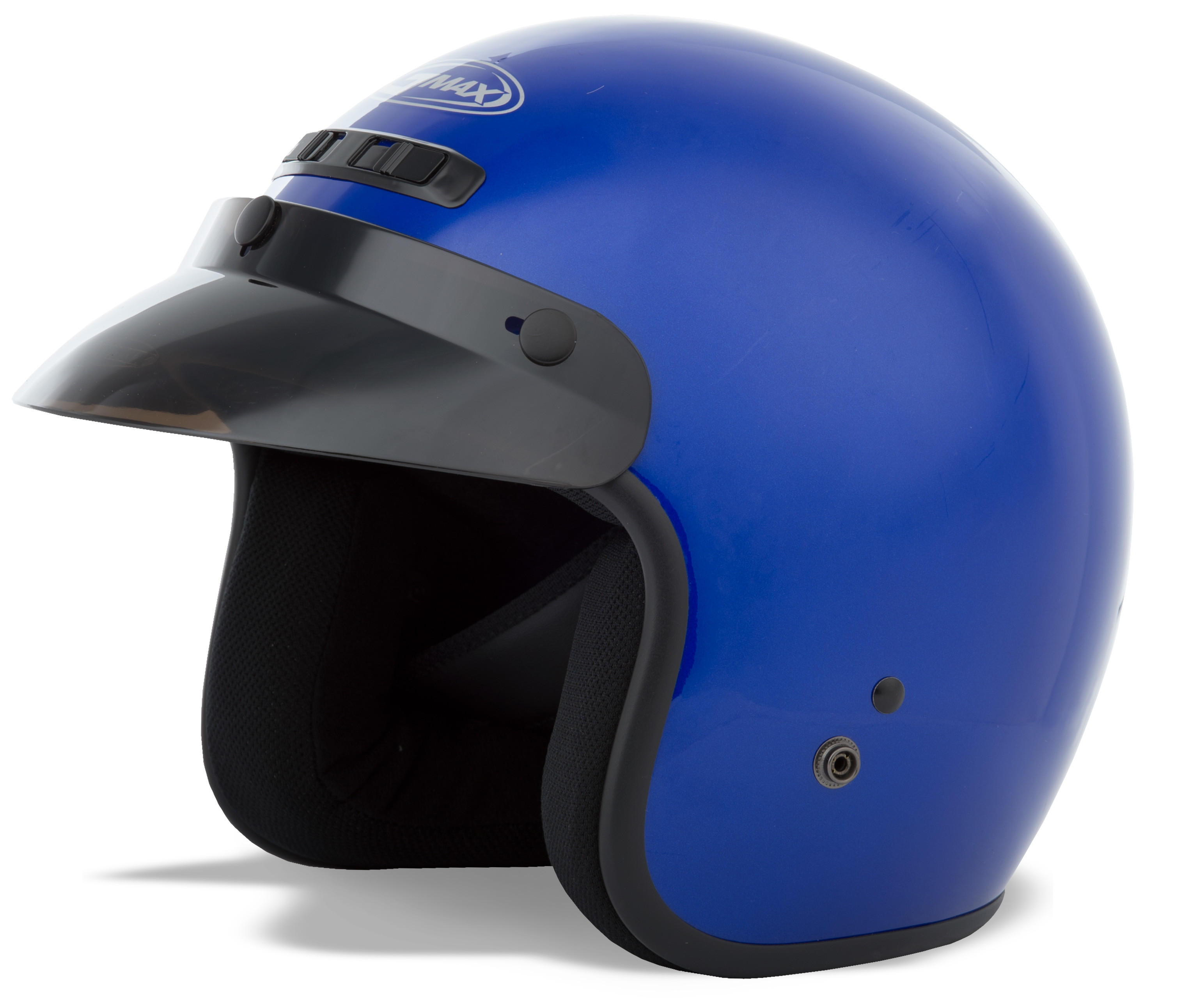 YOUTH GM-2 Open-Face Helmet,  BLUE YS-YM 72-5355YS