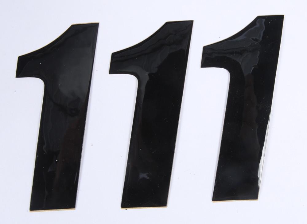 Number 1 Black 4