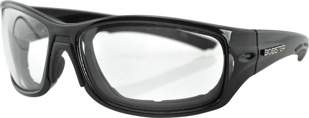 RUKUS SUNGLASSES BLACK ANTI-FOG W/PHOTOCHROMATIC LENS