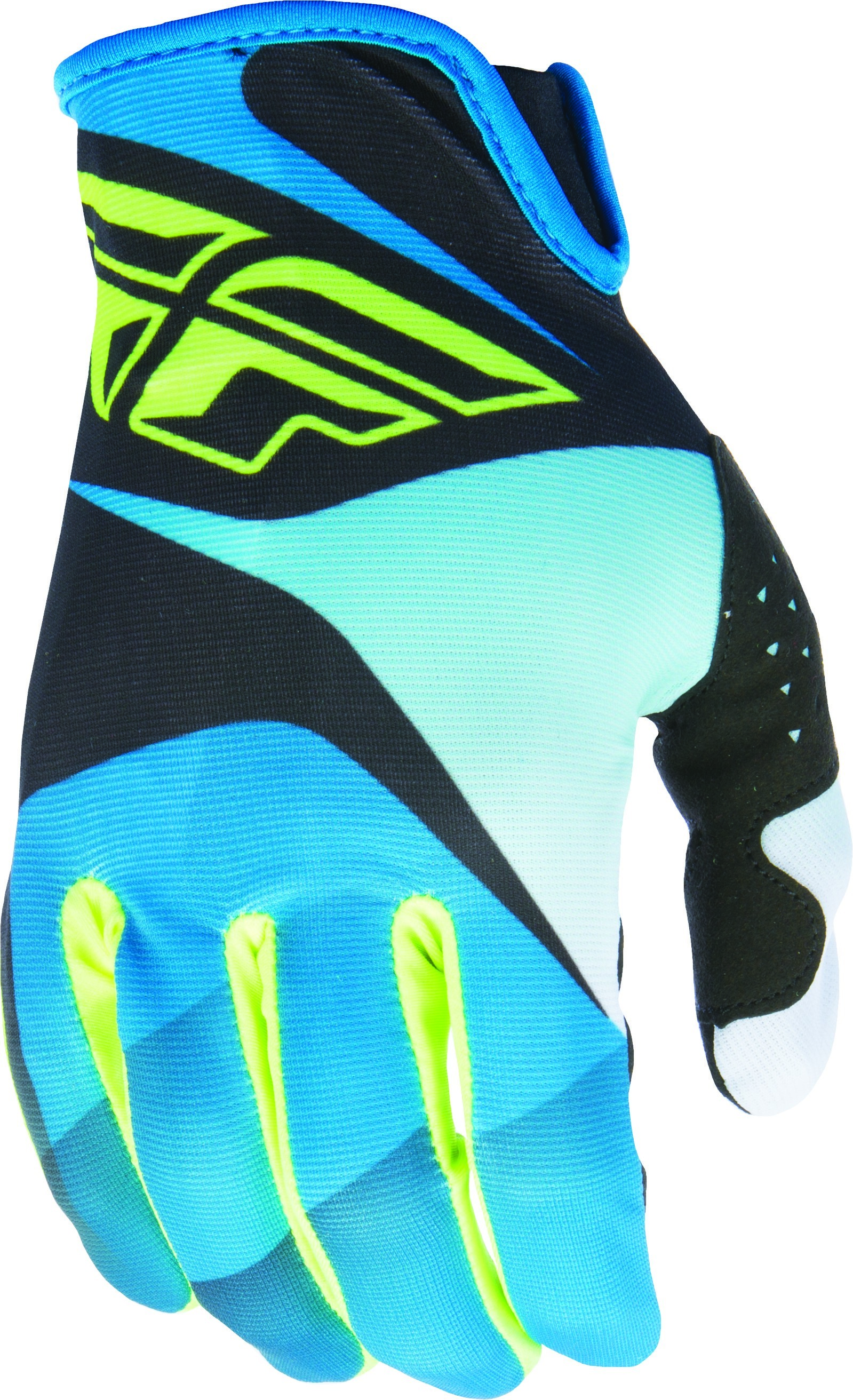 LITE GLOVE BLUE/BLACK/HI-VIS SZ 8 S (370-01108)