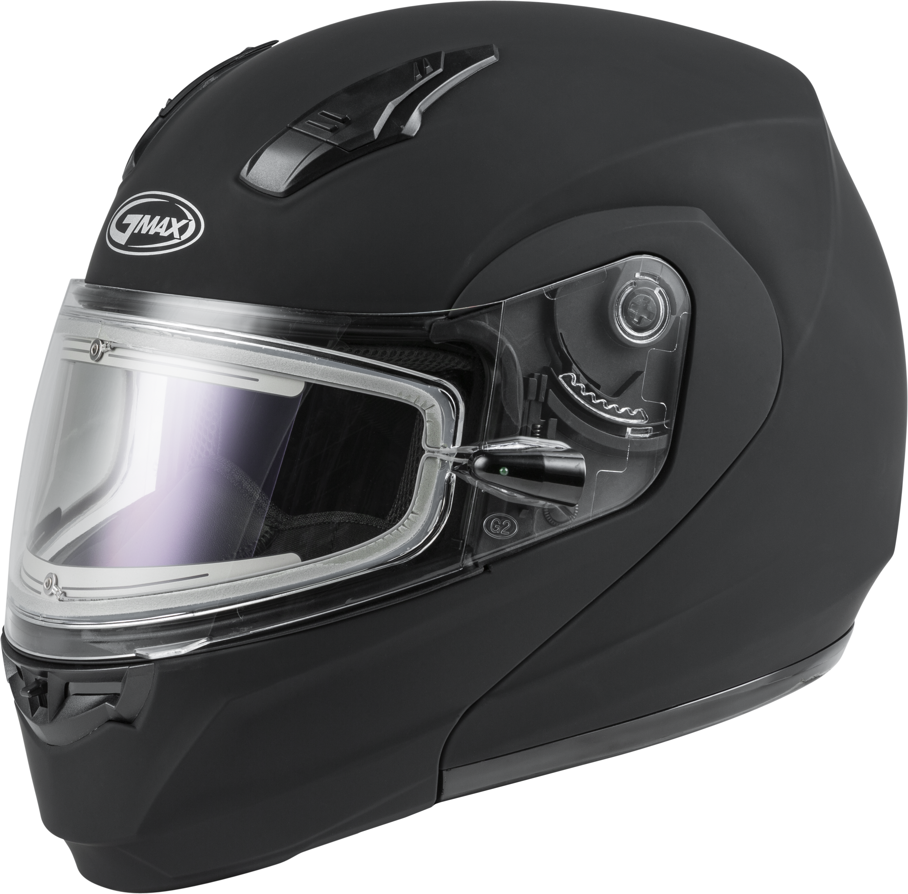 MD-04S Snow Helmet Solid w/Quick Release Buckle Electric Shield