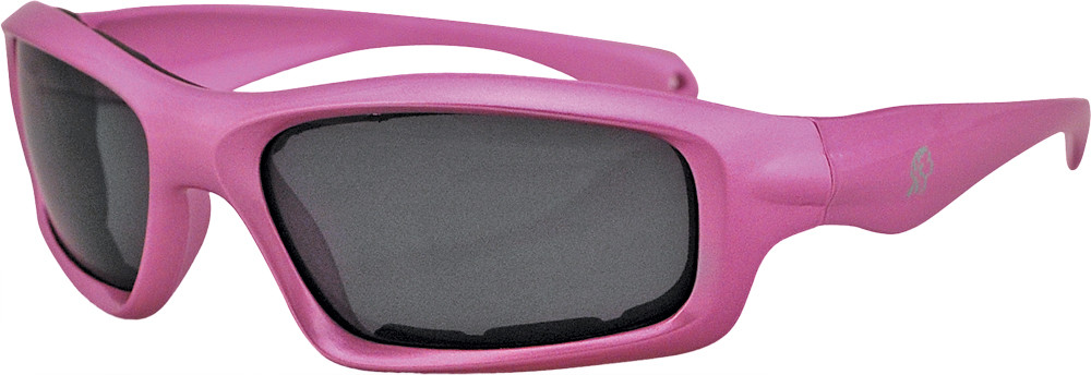 Seattle Sunglasses Pink Frame W/Smoked Lens