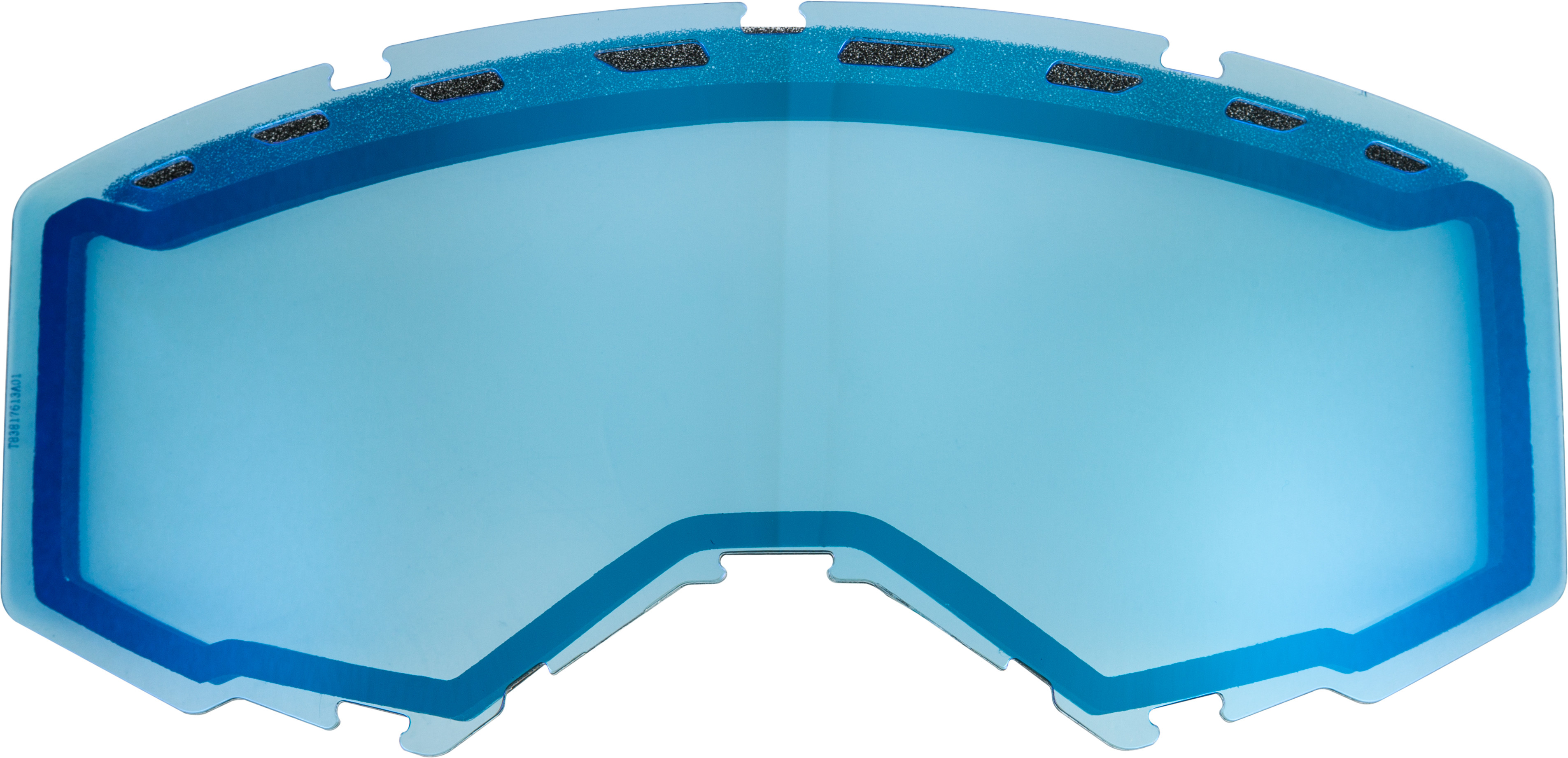 DUAL LENS WITH VENTS ADULT SKY BLUE MIRROR BLUE