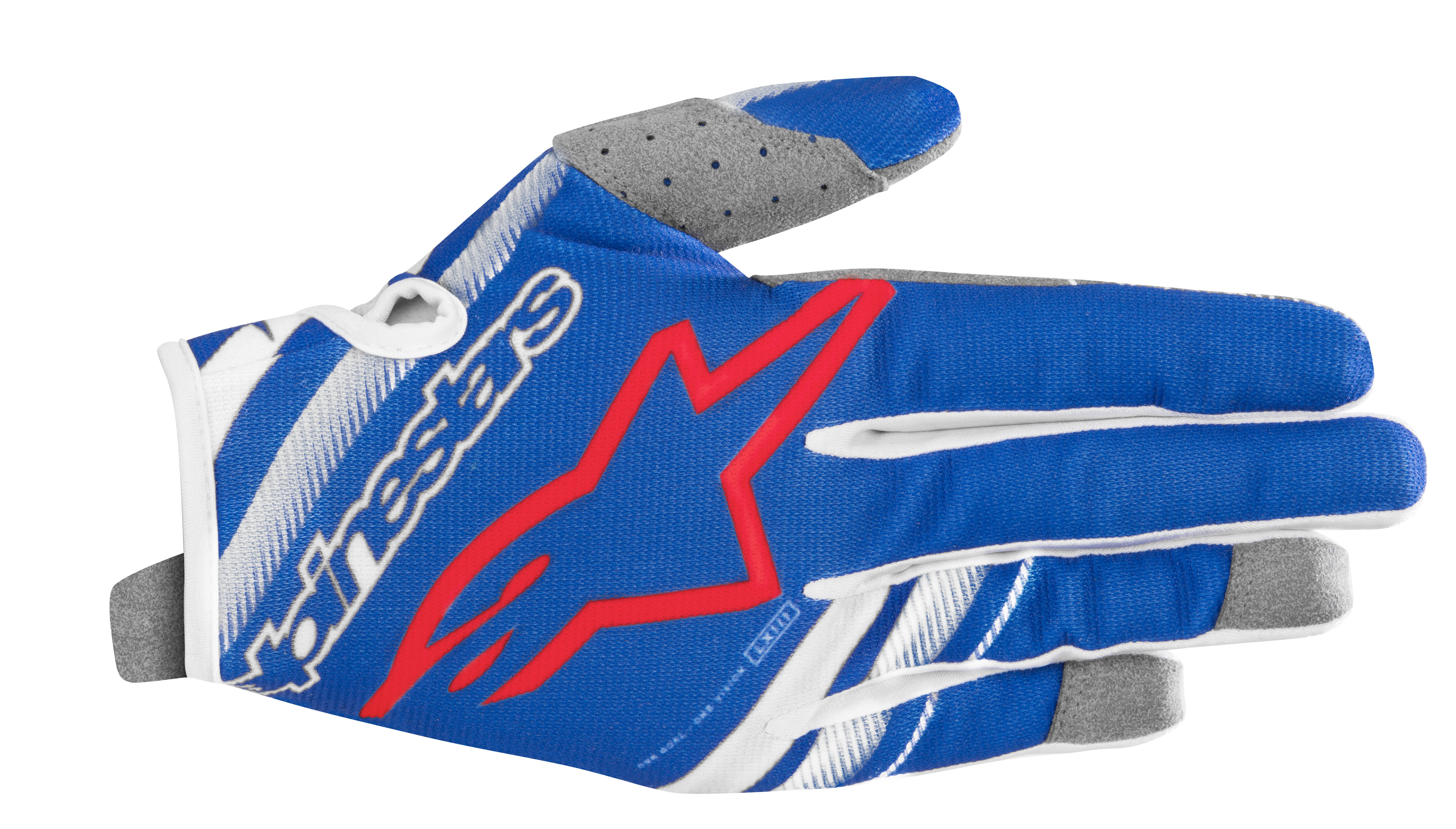 YOUTH RADAR GLOVES BLUE/WHITE Y3XS