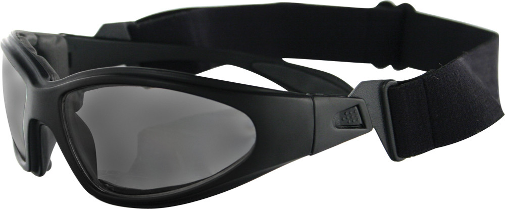 GXR SUNGLASSES BLACK W/SMOKE LENS