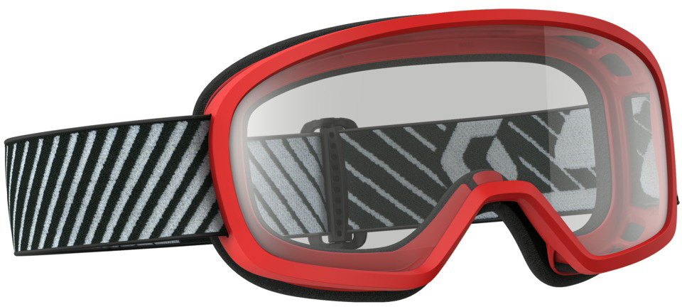 BUZZ MX GOGGLE RED W/CLEAR LENS