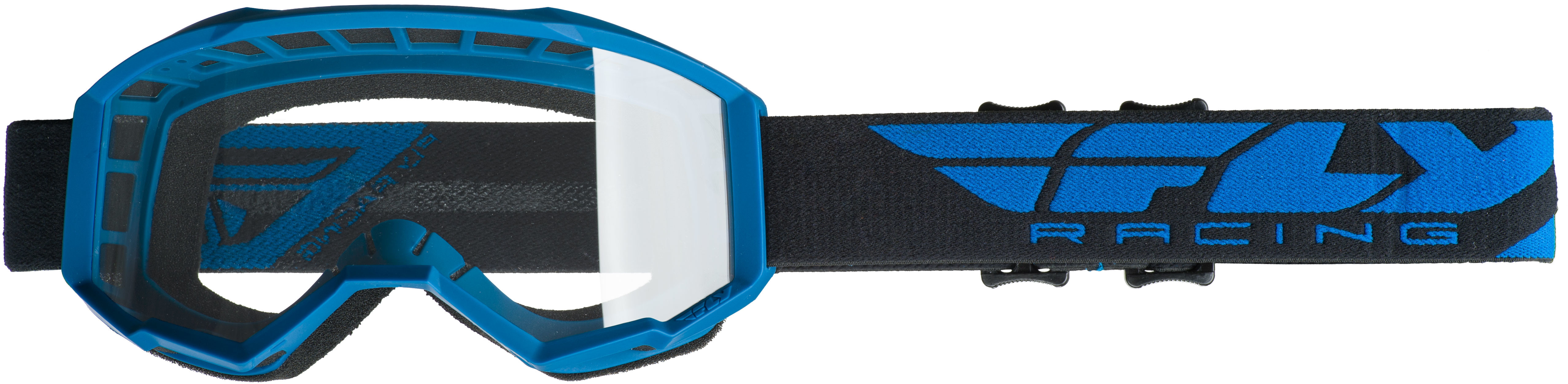 2019 Focus Goggle Blue W/Clear Lens