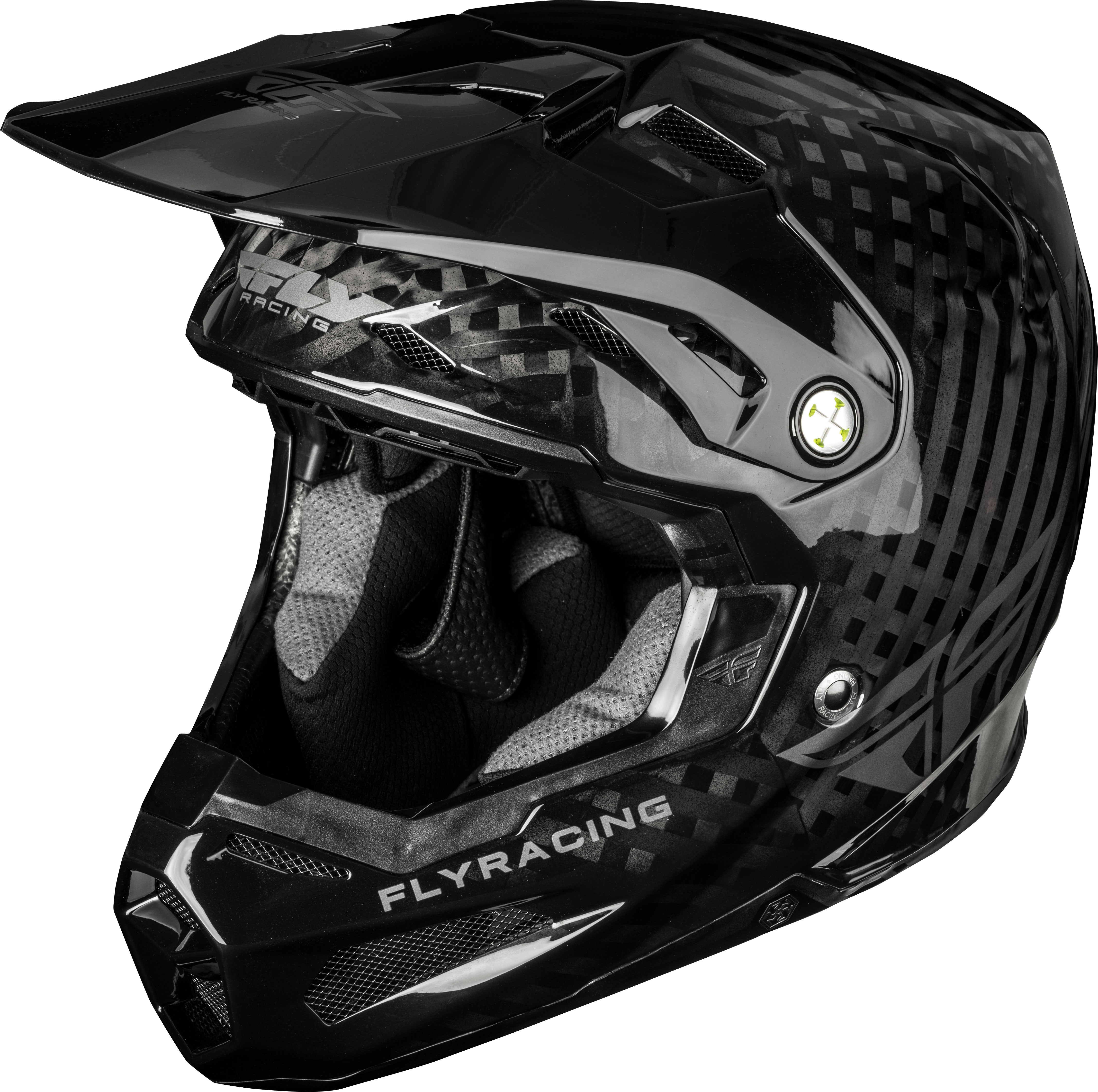 FORMULA SOLID Helmet Black,  Carbon MD 73-4400M