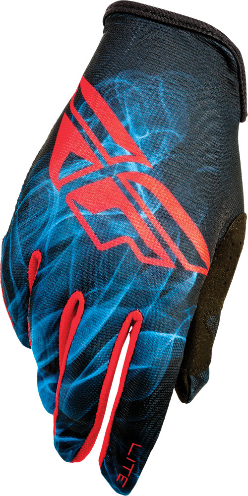 Lite Gloves Red/Blue/Black Sz 8 (368-01108)
